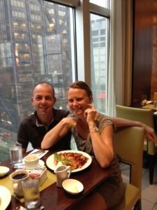 ontbijt in chicago dag 1