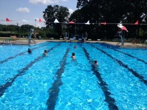 zwembad zondag