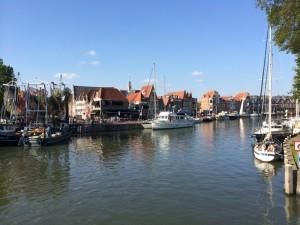 de binnenhaven van Hoorn