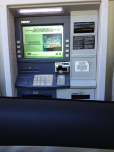 drive through pin automaat