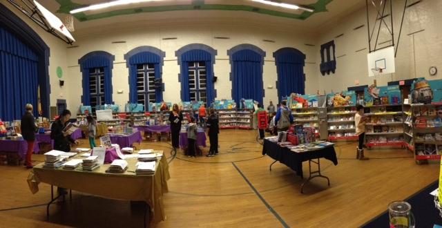 bookfair op Stijns school