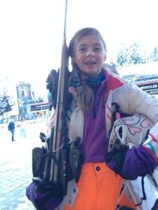 eniek op ski
