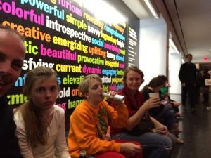 MOMA pauze