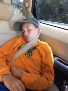 stijn slaapt