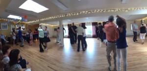 feestje op de dansschool