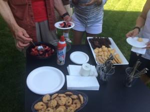 desserts bbq