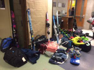 skis op school