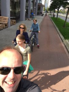 fietsen naar school
