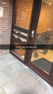 eerste job