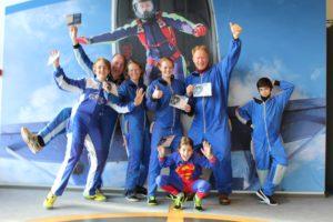 skydive teamfoto